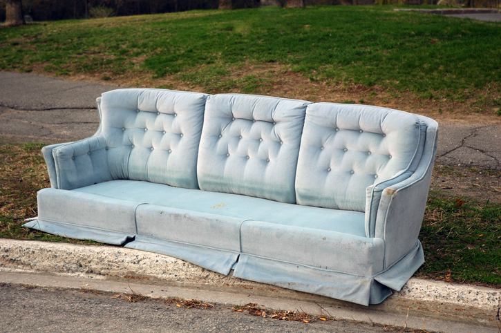 Where can i get rid of an old couch in Dublin?