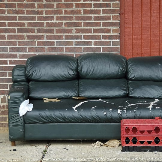 How to get rid of sofa